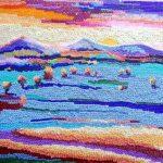 Полосы жизни,, мозаика бисером, 21х17, Лилия Лысенко