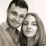 Портет влюбленной пары, бумага, карандаш, 30х42 - Александр Матийко