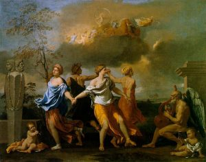 A Dance to the Music of Time, c.1634-36 by Nicolas Poussin (French, 1594–1665)
