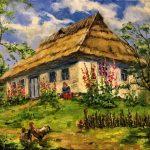 Там, где всегда уютно, холст, масло, 50х60- Олег Мазурчак