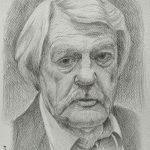 Леонид Кулагин, бумага, карандаш, 29×20 - Таскаева Людмила