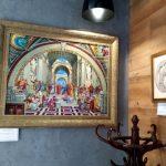 Персональная выставка художника Олега М. Караваева...