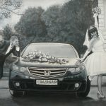 Свадьба, портрет по фото, масло, картон, 30х40 - Татьяна Шемелина