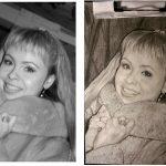 Портреты на заказ по фото заказчика, бумага, карандаш, 20х30, возможны рама с паспарту- Олег М. Караваев
