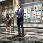 Таня Василенко и Министр финансов - вступительное слово